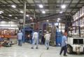 Entire machinery line move
